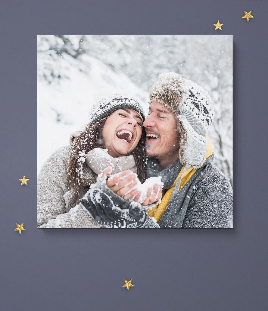 Weihnachten - Fotoleinwand