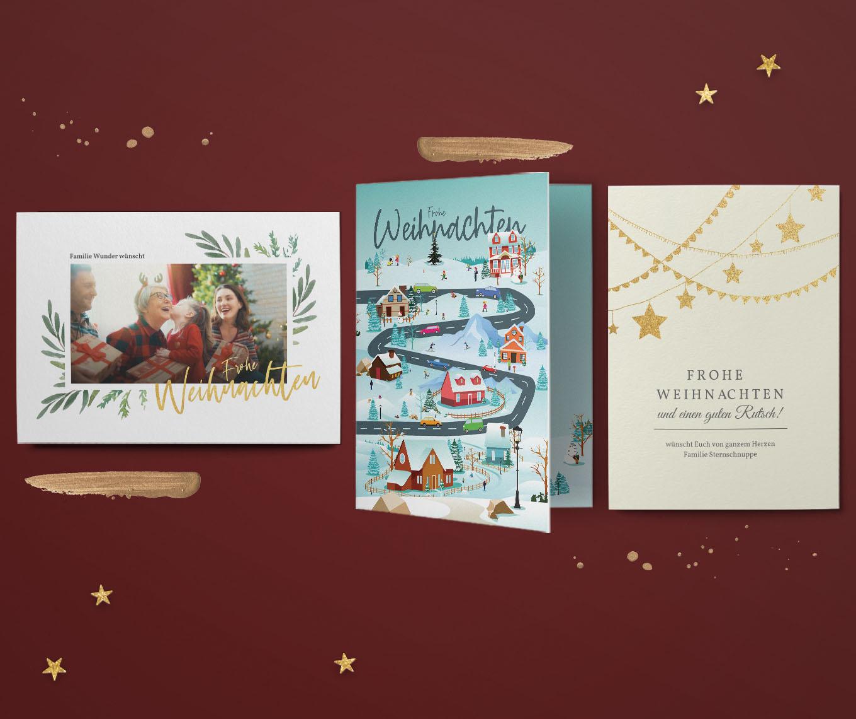 Weihnachtskarten - Aktuelle Weihnachtskarten